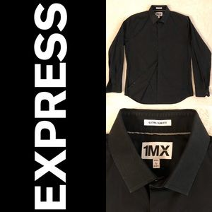 Express dress shirt in black